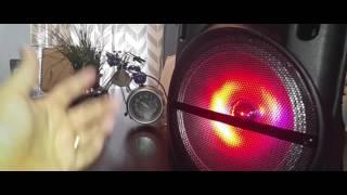 Unboxing QFX Battery Powered Bluetooth Speaker PBX 61126