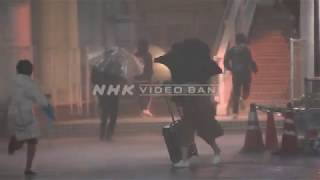 NHK VIDEO BANK - Time lapse: thunderstorm and torrential rain hits Tokyo