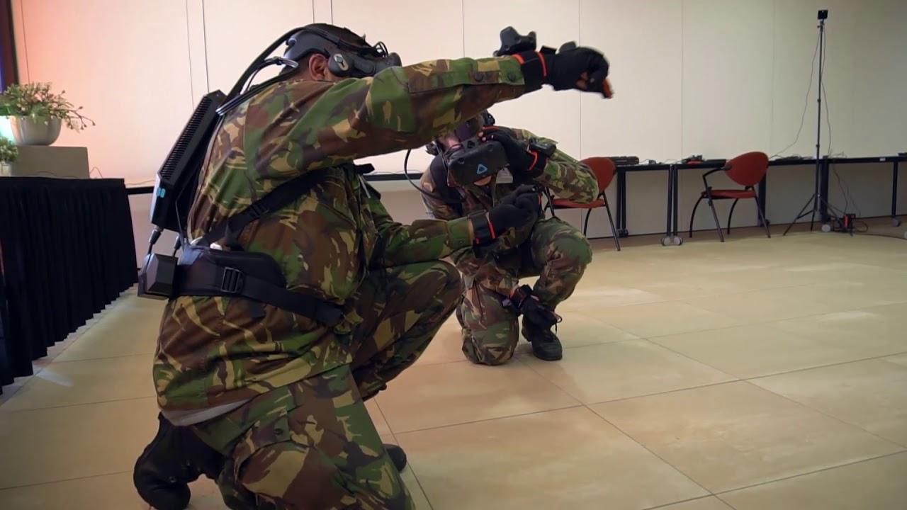 CCT-200 VR training Dutch Army