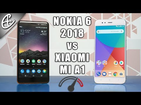 Nokia 6 2018 vs Mi A1 Speedtest Comparison - Back With A Bang!
