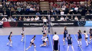 Penn State vs California 07 Volleyball Semis (part 1 of 3)