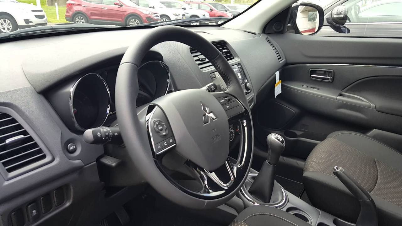 new 2016 mitsubishi outlander sport es 5 speed manual in aurora il rh youtube com mitsubishi outlander manual 2014 manuel pdf mitsubishi outlander