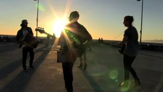 "ZiBBZ - ""Travelling Song"" on Venice Pier (acoustic)"