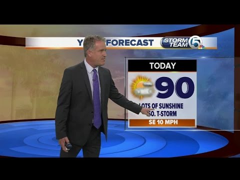 South Florida weather 6/25/17 - 7am report