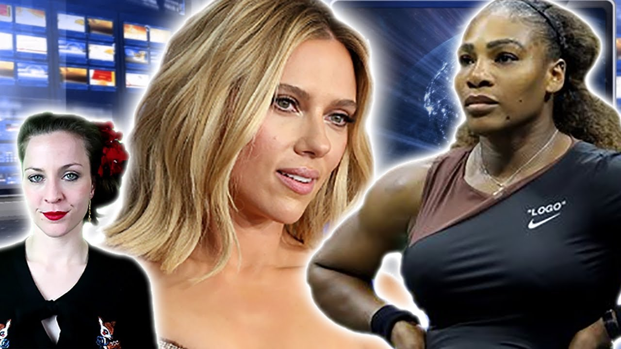 Serena Williams Has A Freakout, Scarlett Johannson Wants To Play Any Tree or Animal??