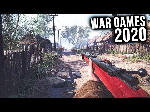 Top 15 NEW War Games of 2020