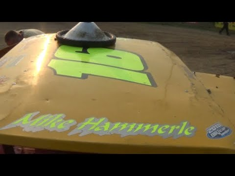 In Car Cam of Mike Hammerle at Belle-Clair Speedway 5-31-19