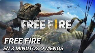 Video FREE FIRE EN 3 MINUTOS O MENOS download MP3, 3GP, MP4, WEBM, AVI, FLV November 2018