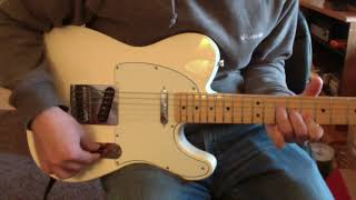 MIM Fender Telecaster with Twisted Tele Pickups
