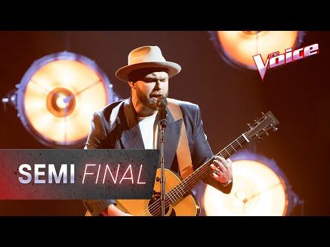Semi Final: Timothy Bowen Sings 'Reason To Live' | The Voice Australia 2020