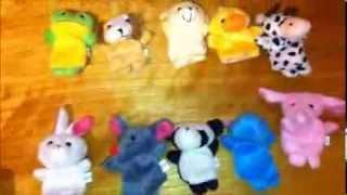 10 Velvet Animal Style Finger Puppets Review