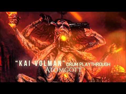 """ATOMGOTT """"Blutrausch des Irrsinns"""" [DRUM PLAYTHROUGH BY KAI VOLMAN]"""
