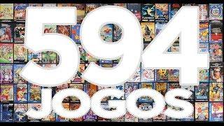 Como colocar 594 jogos no MEGA DRIVE 2017! As melhores ROMs testadas para sua diversão!