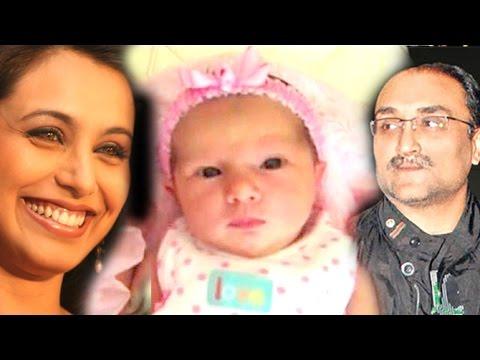 Rani Mukherji & Aditya Chopra's Daughter ADIRA's First Glimpse