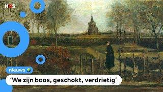 Van Gogh-schilderij gestolen uit museum in Laren