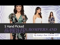 5 Hand Picked JUMPSUITS, ROMPERS AND OVERALLS By Adelyn Rae, Winter 2017