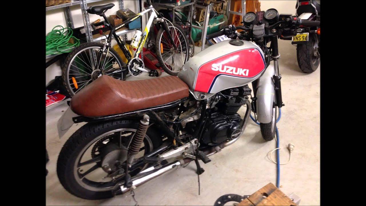 suzuki gsx250 1983 cafe racer - youtube