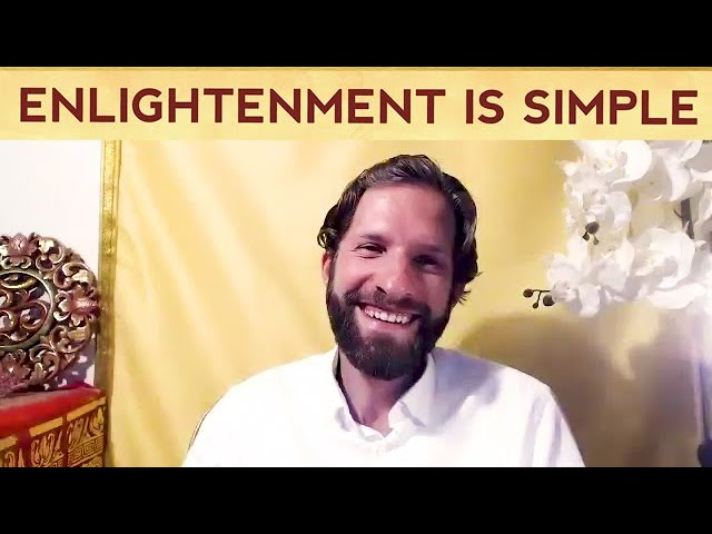 Enlightenment can be too simple