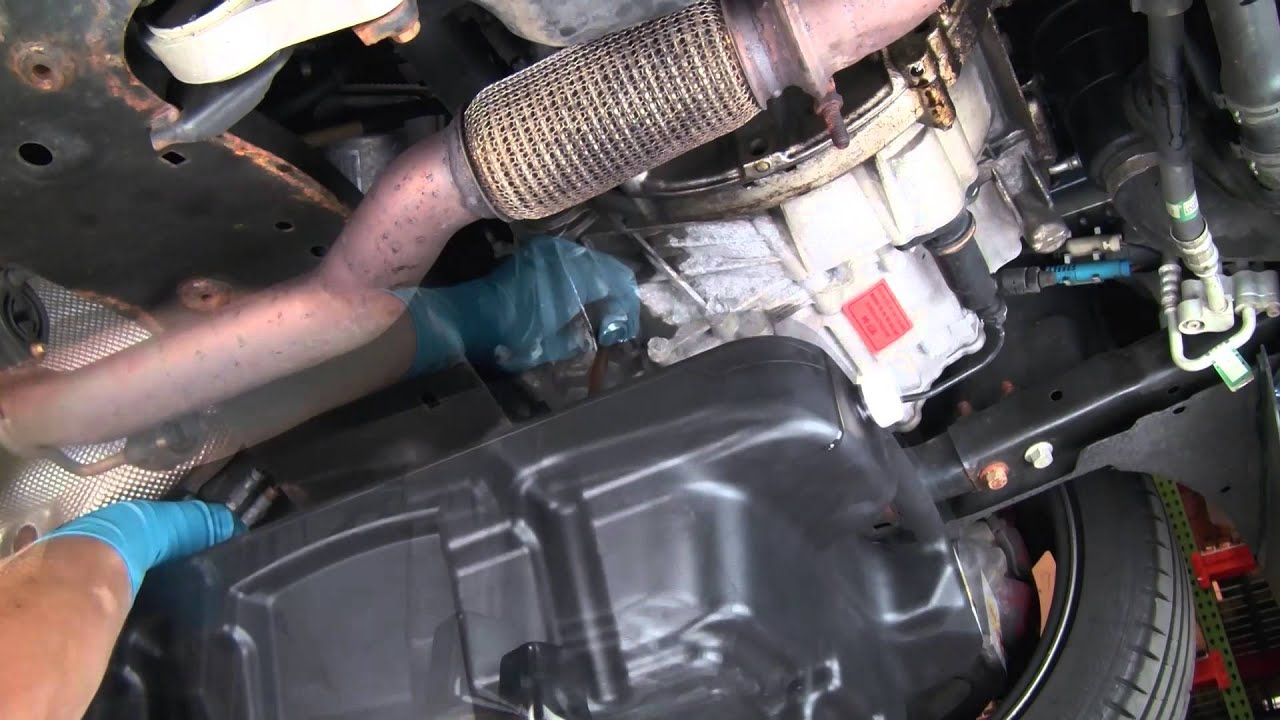 hight resolution of changing fluid in mini manual transaxle under car fluid changes youtube