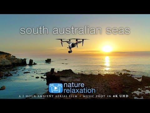 FLYING OVER SOUTH AUSTRALIA 4K (+ Music): 1 HR Nature Relaxation Drone Film | DJI Inspire2