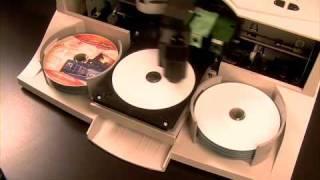 Primera's Bravo II - CD/DVD Disc Printing and Duplication