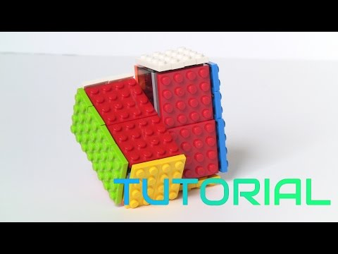 How to make a Lego Rubik's Cube! (2x2x1)