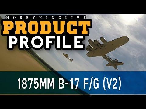 HobbyKing 1875mm B-17