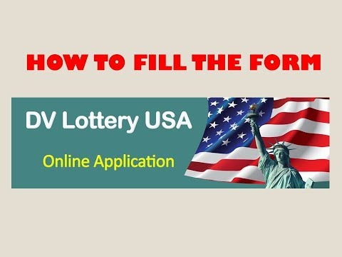 How To Properly Fill GREEN CARD (DV) Lottery Form And WIN