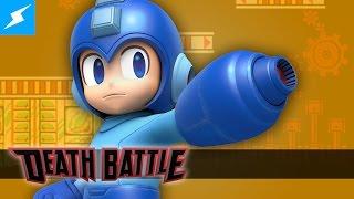 Mega Man powers up for a DEATH BATTLE!