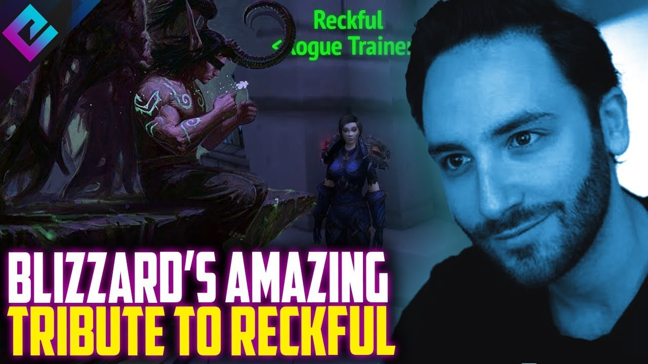 Blizzard Pays Tribute to Reckful Following His Passing