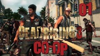 Dead Rising 3 - Прохождение (кооп) pt1