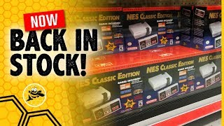 NES Classic Edition is Back In Stock Now! (2018)