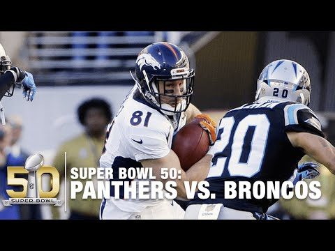 Peyton Manning Completes Pass To Owen Daniels | Panthers vs. Broncos | NFL