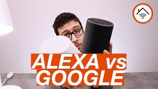 AMAZON Echo (ALEXA) vs GOOGLE Home (ASSISTANT) in Italiano