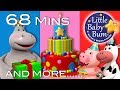 Happy Birthday Song | Part 2 | Plus Lots More Nursery Rhymes | 68 Mins Compilation by LittleBabyBum!