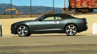 2011 Chevrolet Camaro Convertible – First Test