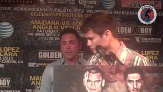 Boxing 360 - Maidana - Lopez - Angulo - Lara Los Angeles Press Conference Part 9