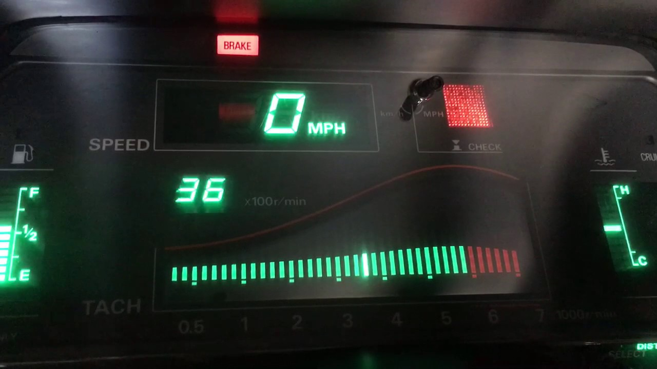 1989 Nissan 300zx Turbo Digital Dash Display