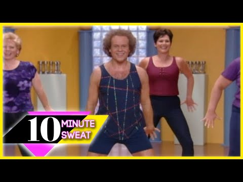 10 Minute Sweat w/ Richard Simmons - Part 1 Workout - YouTube