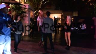Lady Victoria Hervey departs Chateau Marmont in West Holl...