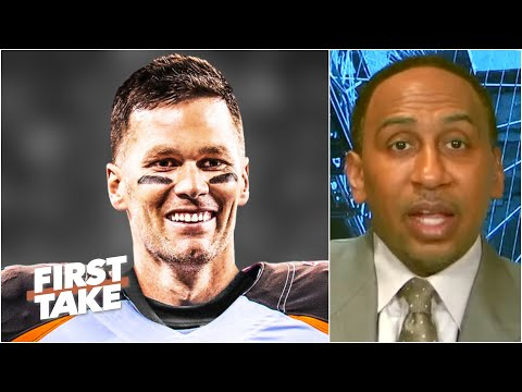 Stephen A. makes the case for Tom Brady's MVP chances with the Bucs | First Take