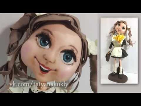 Лицо для куклы из фоамирана мастер класс