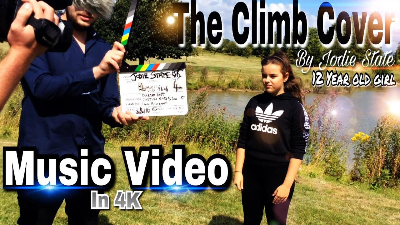 YOUNG FEMALE SINGER COVERS - THE CLIMB - MILEY CYRUS (COVER) MUSIC VIDEO