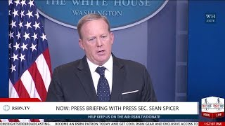 LIVE: White House Press Briefing with Press Secretary Sean Spicer 6/20/17
