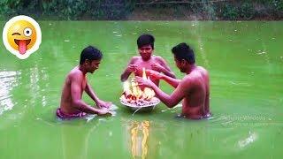 হাঁসতে চাইলে চলে আসুন তারাতারি - কদু বাহিনীদের মজার ফানি ভিডিও || New Bangla Funny Video