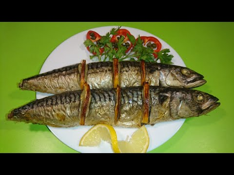 Скумбрия в духовке / How To Cook Mackerel Quickly