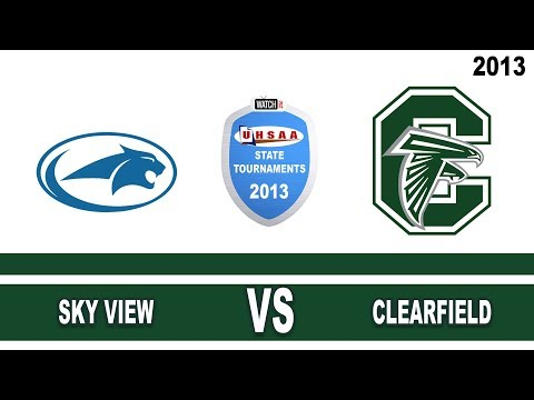 Court#2  Match#2 --- Sky View vs Clearfield High School 2013 State 4A Volleyball Tournament