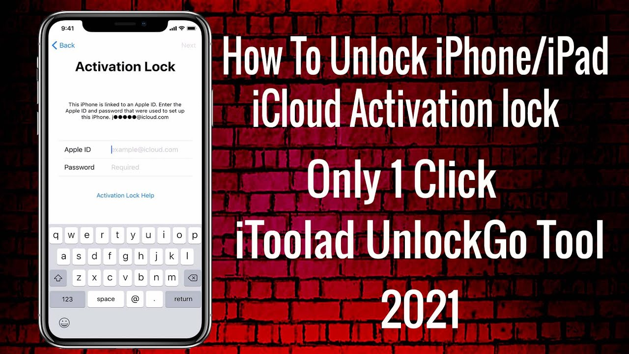 2021 How To Unlock iPhone/iPad iCloud Activation lock Only 1 Click With iToolab UnlockGo Tool