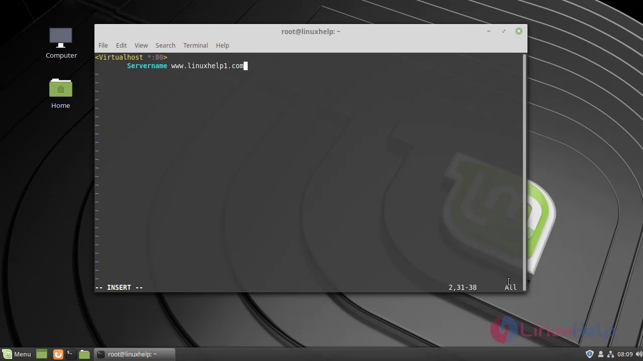How To Install Bigtree CMS On Linuxmint 19