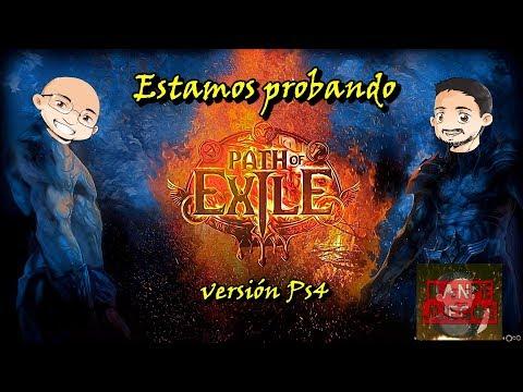 PATH OF EXILE ⚔️. Probando su versión en PS4. Gameplay en español 🔥